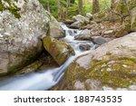 a beautiful stream on pelion... | Shutterstock . vector #188743535