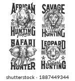Safari Hunting Shirt Prints ...