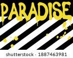 urban street style paradise... | Shutterstock .eps vector #1887463981