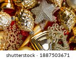 background of gold and red...   Shutterstock . vector #1887503671