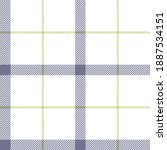 tattersall plaid pattern in... | Shutterstock .eps vector #1887534151