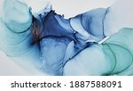 alcohol ink. colorful artist...   Shutterstock . vector #1887588091