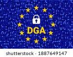 data governance act   dga.... | Shutterstock .eps vector #1887649147