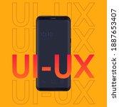 ui or ux design concept ...