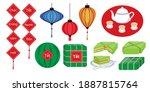 illustration vector of paper... | Shutterstock .eps vector #1887815764
