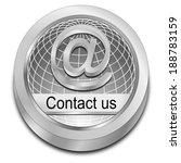 button contact us | Shutterstock . vector #188783159