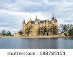 famous schwerin castle in... | Shutterstock . vector #188785121