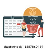 flat design with people. gif  ...   Shutterstock .eps vector #1887860464