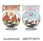 Desert Vibes Arizona  T Shirt...