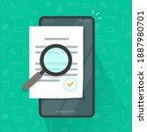 expertise document inspection...   Shutterstock .eps vector #1887980701