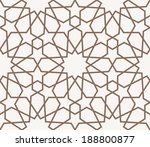 background with seamless... | Shutterstock .eps vector #188800877