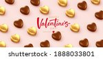 background for valentines day... | Shutterstock .eps vector #1888033801