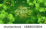 golden handwriting lettering... | Shutterstock .eps vector #1888033804