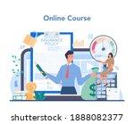 insurance agent online service... | Shutterstock .eps vector #1888082377