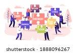 core values concept. tiny... | Shutterstock .eps vector #1888096267