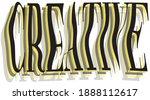 modern typography creative...   Shutterstock .eps vector #1888112617
