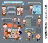 business infographics  are you... | Shutterstock .eps vector #188813435