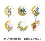magic moon collection. vector...   Shutterstock .eps vector #1888169617