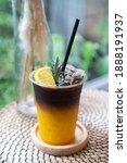 Coffee Mix With Orange Juice...
