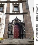 Elaborate Historic Doorways In...