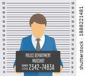 police mugshot background.... | Shutterstock . vector #1888221481