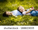 girls having fun | Shutterstock . vector #188823035