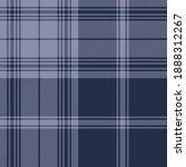 Blue Modern Plaid Scottish...