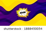 Boom Sale Sticker. Fluid Liquid ...
