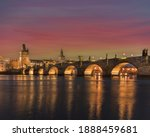 Charles Bridge And Light From...