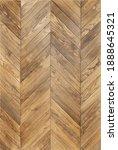 Small photo of Detailed Oak texture of fishbone wood floor