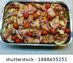 Oven Vegetable And Pork...