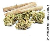 marijuana  | Shutterstock . vector #188865875