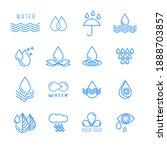 water  water drop  splash  wave ... | Shutterstock .eps vector #1888703857