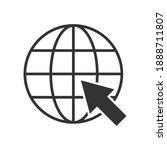 internet. go to website symbol...