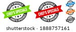 chef's specials stamp. chef's... | Shutterstock .eps vector #1888757161