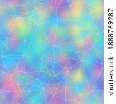 Holographic Foil Vivid Trendy...