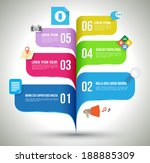business template with sign  ... | Shutterstock .eps vector #188885309