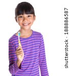 young asian malay girl with... | Shutterstock . vector #188886587