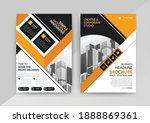 geometric business abstract...   Shutterstock .eps vector #1888869361
