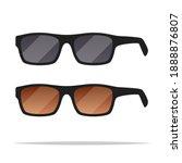 sunglasses vector isolated... | Shutterstock .eps vector #1888876807