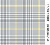 tweed plaid pattern in grey ...   Shutterstock .eps vector #1888955737