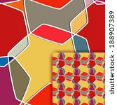 color seamless texture with... | Shutterstock .eps vector #188907389