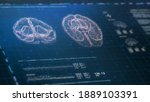 futuristic brain scanning...