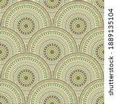 african mandala circles...   Shutterstock .eps vector #1889135104