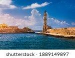 Panorama Of Venetian Harbour...