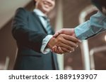 Businessman Shake Hands And Get ...