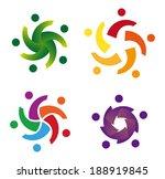 design vector wave star logo...