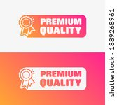 premium quality shopping vector ... | Shutterstock .eps vector #1889268961