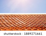 Temple Roof Tile Pattern Over...