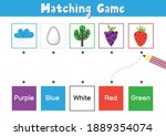 match elements by color.... | Shutterstock .eps vector #1889354074